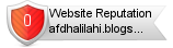 Afdhalilahi.blogspot.com website reputation