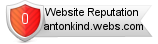 Rating for antonkind.webs.com