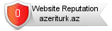 Azeriturk.az website reputation