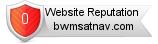 Rating for bwmsatnav.com