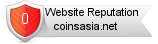 Coinsasia.net website reputation
