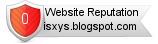 Isxys.blogspot.com website reputation