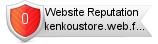 Rating for kenkoustore.web.fc2.com