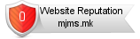 Mjms.mk website reputation