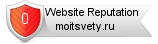 Rating for moitsvety.ru