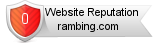Rambing.com website reputation
