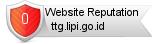 Ttg.lipi.go.id website reputation