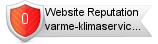 Varme-klimaservice.no website reputation
