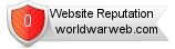 Rating for worldwarweb.com