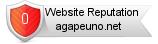 Agapeuno.net website reputation