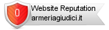 Armeriagiudici.it website reputation