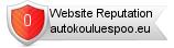 Autokouluespoo.eu website reputation