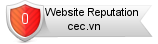 Cec.vn website reputation