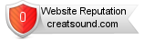 Creatsound.com website reputation
