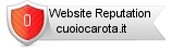 Cuoiocarota.it website reputation