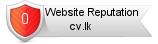 Cv.lk website reputation