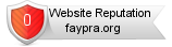 Faypra.org website reputation