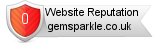 Gemsparkle.co.uk website reputation