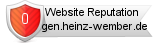 Rating for gen.heinz-wember.de