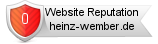 Rating for heinz-wember.de