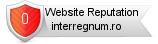 Interregnum.ro website reputation
