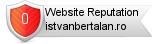 Istvanbertalan.ro website reputation