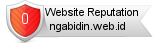 Ngabidin.web.id website reputation