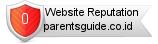 Parentsguide.co.id website reputation