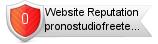 Pronostudiofreeteam.it website reputation
