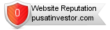 Pusatinvestor.com website reputation