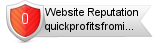 Rating for quickprofitsfrominternet.com
