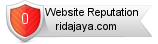 Ridajaya.com website reputation