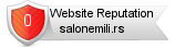 Rating for salonemili.rs