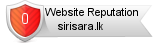 Sirisara.lk website reputation