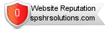 Spshrsolutions.com website reputation