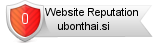 Ubonthai.si website reputation