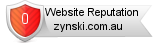 Rating for zynski.com.au